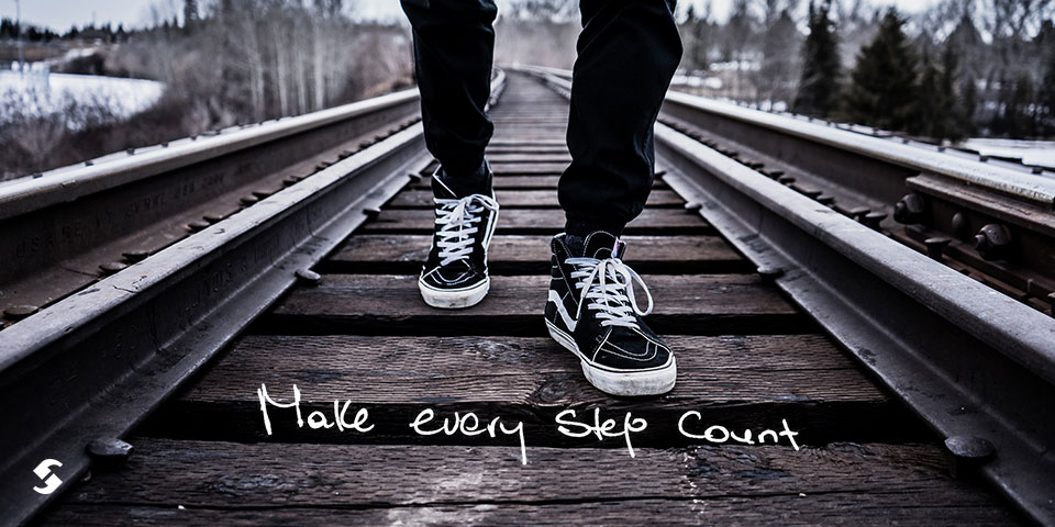 make every Step Count